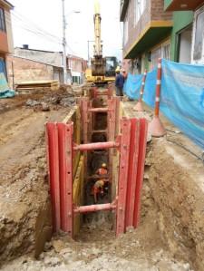 Trabajo seguro en excavaciones para evitar derrumbes y atrapamientos